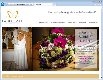 TYPO3-Extension Wunschliste bei fairy-taleweddings